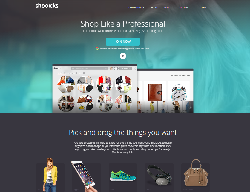 Shopicks portfolio PurpleBrand