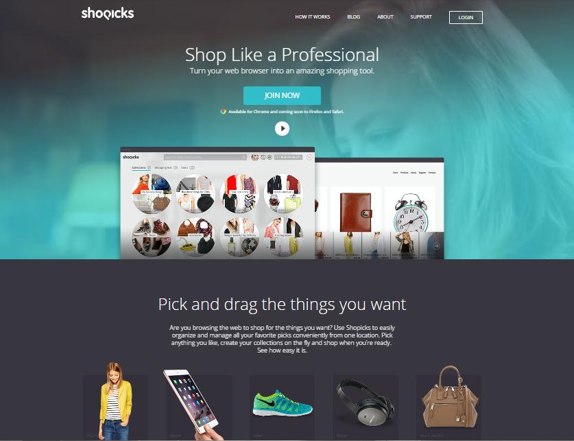 Shopicks portfolio PurpleBrand